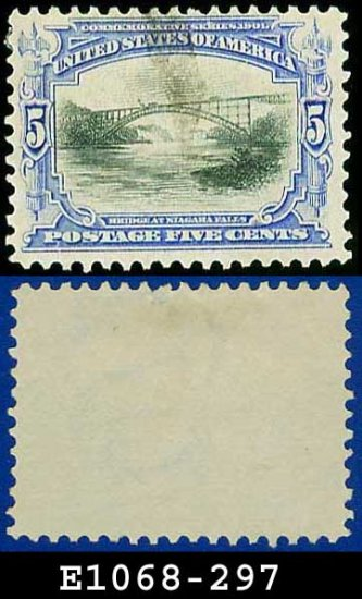 1901 USA USED Scott# 297 � 5c Bridge at Niagara Falls � Pan-American Issue
