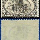 1898 USA USED Scott# 290 – 10c Hardships of Emigration – Trans-Mississippi Series