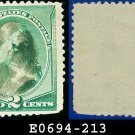 1887 USA USED Scott# 213 – 2c Washington – 1887 Color Change Series