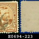 1890 USA USED Scott# 223 – 5c Grant – 1890-93 Regular Issues