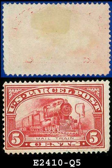 1912-13 USA Scott# Q5 USED � 5c Mail Train � Parcel Post Issue