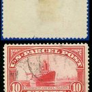 1912-13 USA Scott# Q6 USED – 10c Steamship Mail – Parcel Post Issue
