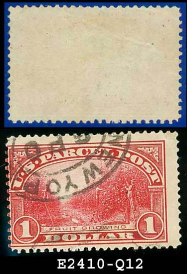 1912-13 USA Scott# Q12 USED � $1 Fruit Growing � Parcel Post Issue