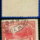 1912-13 USA Scott# Q12 USED – $1 Fruit Growing – Parcel Post Issue