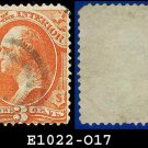 1873 USA USED Scott# O17 – 3c Dept of the Interior  – Official Stamps