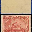 1898 USA UNUSED Scott# RB28 – 2 1/2c Battleship Proprietary  – Documentary Stamps