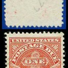 1930-31 USA USED Scott# J77– $1 Carmine – Postage Due Stamps