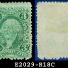 USA USED Scott# R18C – 3c Proprietary – Internal Revenue Stamps