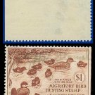 1941 USA USED Scott# RW8 – $1 Family of Ruddy Ducks – Duck Stamps