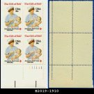 1981 USA MNH Sc# 1910 Plate# Block of Four – 18c American Red Cross - 1981 Commemoratives