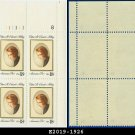 1981 USA MNH Sc# 1926 Pl# Blk of 4 – 18c Edna St. Vincent Millay Poet - 1981 Commemoratives