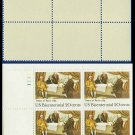 1983 USA MNH Sc# 2052 Pl# Blk of 4 – 20c Signing of Treaty of Paris - 1983 Bicentennial Issue