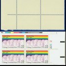 1987 USA MNH Sc# 2275 Plate# Block of Four – 22c United Way, 100 Years – 1987 Commemoratives