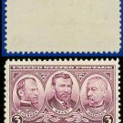 1936-37 USA USED Scott# 787 – 3c Sherman, Grant, & Sheridan – Army-Navy War Heroes Issue