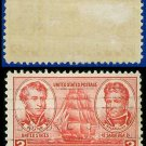 1936-37 USA USED Scott# 791 – 2c Decatur & MacDonough – Army-Navy War Heroes Issue