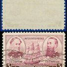 1936-37 USA USED Scott# 792 – 3c Farragut & Porter – Army-Navy War Heroes Issue