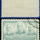 1936-37 USA USED Scott# 793 – 4c Sampson, Dewey, & Schley – Army-Navy War Heroes Issue