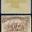 1893 USA UNUSED Scott# 231 – 2c Landing of Columbus – 1893 Columbians