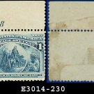 1893 USA UNUSED Scott# 230 – 1c Columbus in Sight of Land – 1893 Columbians