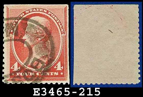 1888 USA USED Scott# 215 � 4c Carmine Jackson � 1888 Regular Issue