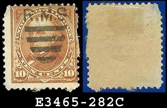 1898 USA USED Scott# 282C � Brown Webster � 1898 Regular Issue