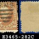 1898 USA USED Scott# 282C – Brown Webster – 1898 Regular Issue