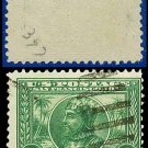 1913 USA USED Scott# 397 – 1c Green Balboa – 1913 Panama-Pacific Issue