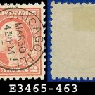 1916-17 USA USED Scott# 463 – 2c Carmine Washington – 1916-17 Regular Issue