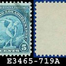 1932 USA USED Scott# 719 – 5c Discus Thrower – 1932 Commemoratives Summer Olympic Games