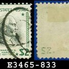 1938 USA USED Scott# 833 – $2 W Harding – 1938 Presidential Series
