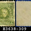 1902-03 USA USED Scott# 309 – 15c Henry Clay Statesman – 1902-03 Regular Series Perf 12