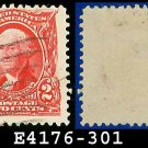 1902-03 USA USED Scott# 301 – 2c Washington 1st US President – 1902-03 Regular Series Perf 12