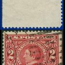 1909 USA UNUSED Scott# 370 – 2c William H Seward - 1909  Alaska-Yukon Pacific Issue