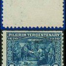 1920 USA USED Scott# 550 – 5c Signing of the Compact – Pilgrim Tercentenary Issue