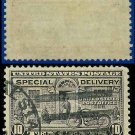 1927-51 USA USED E15 – 10c Grey Violet Motorcycle Delivery - Special Delivery Issue