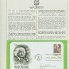 1979 USA FDC Sc# 1774 – 100 Anniversary Albert Einstein's Birth on Cachet Addressed Cover E4859P