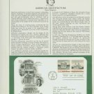 1979 USA FDC Scott# 1779-80 – Jun 4, 1979 American Architecture on Cachet Addressed Cover E4859P