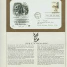 1979 USA FDC Sc# 1787 – Jun 15 – Guide Dogs for the Blind on Cachet Addressed Cover E4859P
