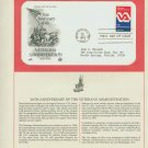 1980 USA FDC Scott# 1825 – Jul 21 – Veterans Administration on Cachet Addressed Cover E4859P