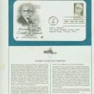 1981 USA FDC Scott# 1874 – Jan 4 – Honoring Everett M Dirksen on Cachet Addressed Cover E4859P