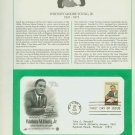 1981 USA FDC Sc# 1875 - Jan 30 – Honoring Whitney M Young Jr on Cachet Addressed Cover E4859P
