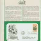 1982 USA FDC Scott# 2010 – Apr 30 – Honoring Horatio Alger on Cachet Addressed Cover E4859P
