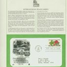 1982 USA FDC Scott# 2014 – Jun 30 – International Peace Garden on Cachet Addressed Cover E4859P