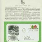 1982 USA FDC Scott# 2014 – Jun 30 – International Peace Garden on Cachet Addressed Cover E4859P