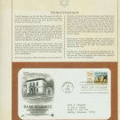 1982 USA FDC Sc# 2017 – Aug 22 – Touro Synagogue on Cachet Addressed Cover E4859P