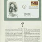 1982 USA FDC Scott# 2023 – Oct 7 – Honoring Francis of Assisi on Cachet Addressed Cover E4859P