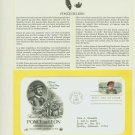 1982 USA FDC Scott# 2024 – Oct 12 – Honoring Ponce de Leon on Cachet Addressed Cover E4859P
