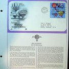 1983 USA FDC Scott# 2033-4 – Mar 31 – The Sport of Ballooning on Cachet Addressed Cover E4859P