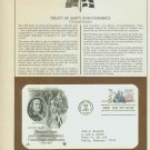 1983 USA FDC Scott# 2036 – Mar 24 – Treaty Between USA & Sweden on Cachet Addressed Cover E4859P