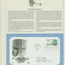 1983 USA FDC Scott# 2041 – May 17 – Brooklyn Bridge Centennial on Cachet Addressed Cover E4859P